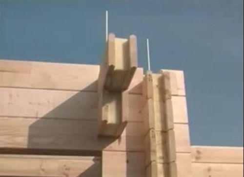 Строительство дома из бруса позволит